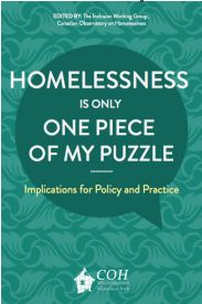 Homelessness is only one piece of my puzzle cover page