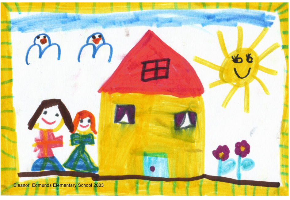 Eleanor's portrait of home