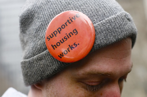 Supportive housing works hat