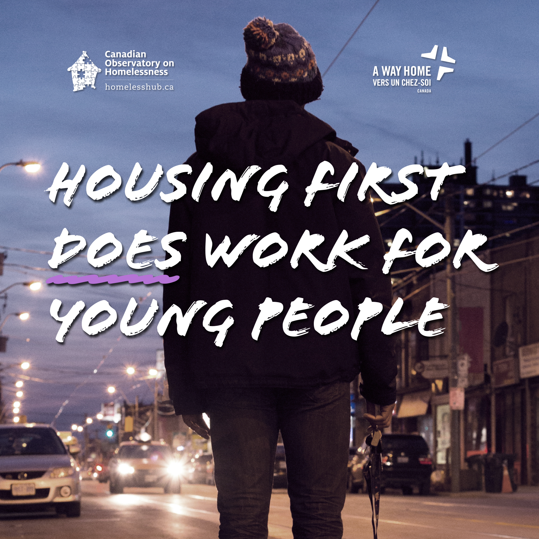 Housing first for youth banner