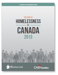 State of homelessness in Canada cover page