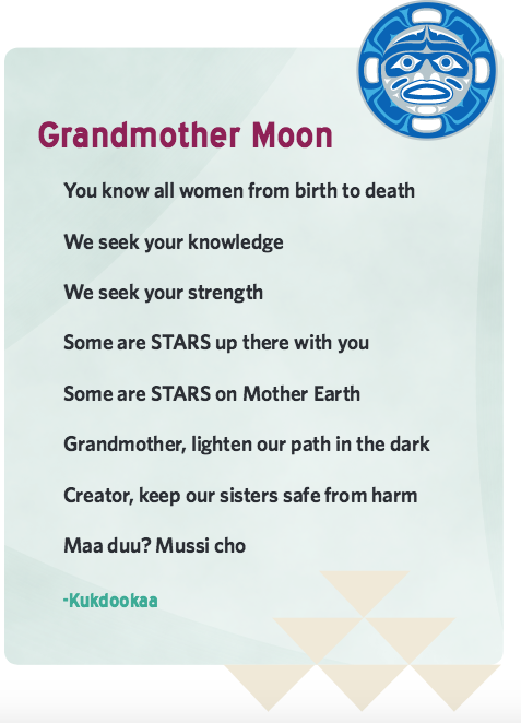 Grandmother Moon prayer