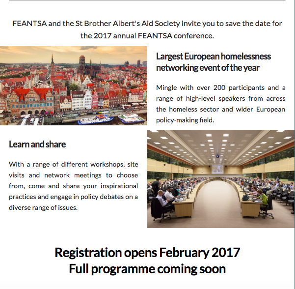 FEANTSA 2017 Policy Conference