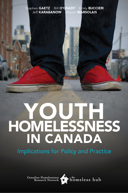 youth homelessness cover page